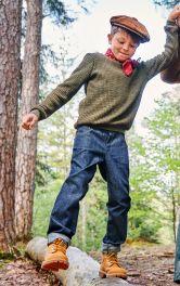 Дитячі брюки у джинсовому стилі Burdastyle