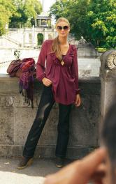 Жіночі джинси вузького крою Burdastyle