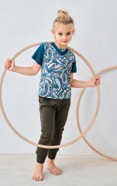 Дитяча трикотажна футболка Burdastyle