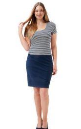 Жіноча трикотажна футболка Burdastyle
