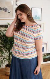 Жіноча футболка з рукавами реглан Burdastyle