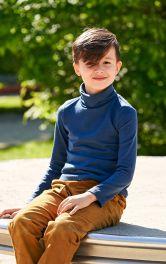 Дитячий пуловер гольф Burdastyle