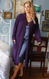 Жіночий трикотажний халат Burdastyle