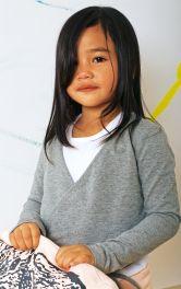 Дитячий пуловер з запахом Burdastyle