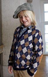 Дитячий трикотажний кардиган Burdastyle