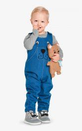 Дитячий джинсовий комбінезон Burdastyle