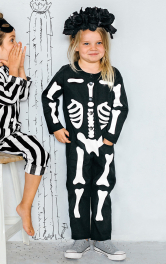 Дитячий маскарадний костюм Скелет Burdastyle