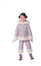 Дитячий теплий костюм Burdastyle