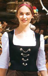 Жіночий корсаж у баварському стилі Burdastyle