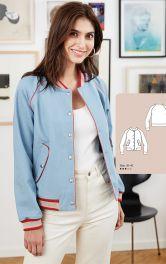 Женская куртка-бомбер Burdastyle фото 1