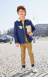 Дитяча джинсова куртка Burdastyle