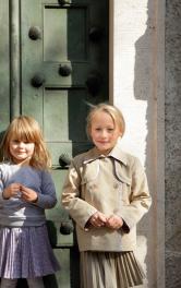 Дитячий двобортний жакет Burdastyle