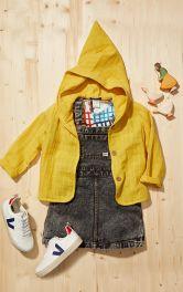 Детская куртка с капюшоном Burdastyle