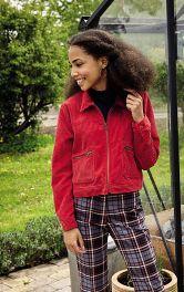 Женская вельветовая куртка Burdastyle фото 1