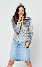Женская трикотажная куртка Burdastyle