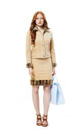 Жіноча вельветова куртка Burdastyle