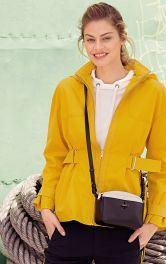 Жіноча куртка приталеного крою Burdastyle