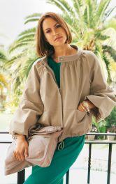 Жіночий блузон із рукавами реглан Burdastyle