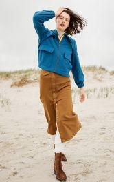 Жіноча куртка в спортивному стилі Burdastyle