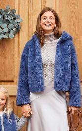 Женская меховая куртка Burdastyle фото 1