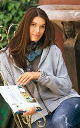Жіноча трикотажна куртка Burdastyle