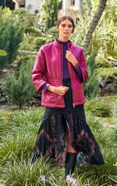 Жіноча куртка з утепленої тканини Burdastyle