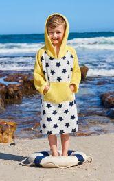 Детский пляжный халат Burdastyle