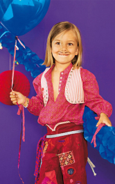 Дитяча блузка сорочкового крою Burdastyle