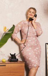 Жіноча мереживна сукня з чохлом Burdastyle