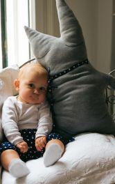 Дитяча м'яка іграшка-подушка Burdastyle