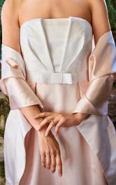 Жіночий палантин до весільної сукні Burdastyle