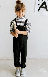 Дитячий напівкомбінезон на бретелях Burdastyle