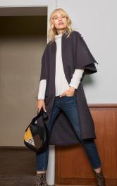 Жіноче пальто-накидка Burdastyle