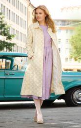 Жіноче пальто в стилі ретро Burdastyle