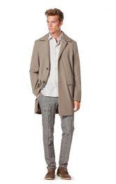 Чоловічий плащ-пальто Burdastyle