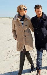 Жіноче пальто дафлкот Burdastyle