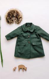 Дитяче пальто з хутряним коміром Burdastyle