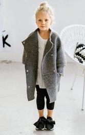 Дитяче пальто просторого крою Burdastyle