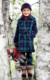 Дитяче пальто-тренчкот Burdastyle