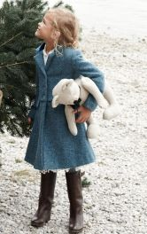 Дитяче пальто приталеного крою Burdastyle