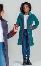 Дитяче пальто прямого крою Burdastyle