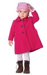 Дитяче пальто з лодену Burdastyle