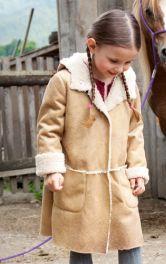 Дитяче пальто-дублянка Burdastyle