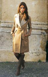 Жіноче шкіряне пальто Burdastyle