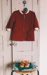 Дитяче пальто з рукавами реглан Burdastyle