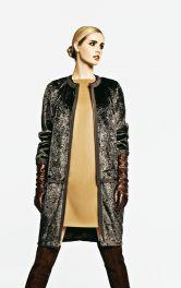 Жіноче хутряне пальто Burdastyle