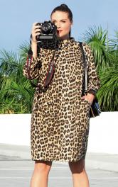 Жіноче пальто О-силуету Burdastyle
