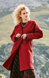 Женское пальто с запахом Burdastyle фото 1