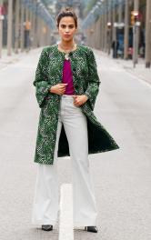 Жіноче пальто прямого крою Burdastyle