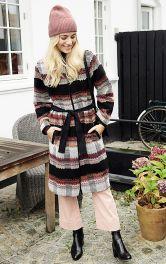 Женское пальто прямого кроя Burdastyle фото 1